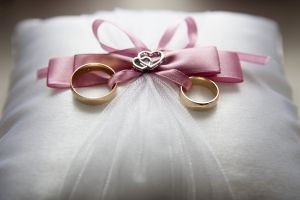 wedding rings as symbols